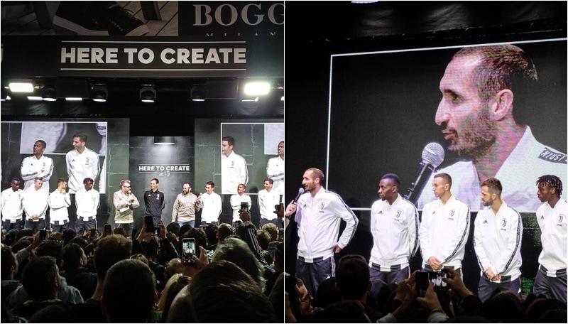 Adidas Store Milano, una marea umana per la Juventus!