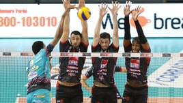 Volley: Superlega, Perugia travolgente all'Eurosole