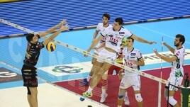 Volley: Superlega, Perugia vince il big match con Trento