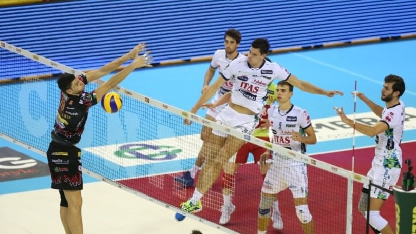 Volley: Superlega, Perugia vince il big match con Trento