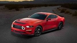 Series 1 Mustang RTR, nata di traverso