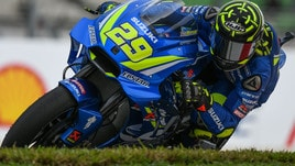 MotoGp Suzuki, Iannone: «Mi manca il feeling con la moto»