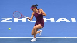 Tennis, Wta Elite Trophy: Garcia batte Sabalenka e 'promuove' Barty