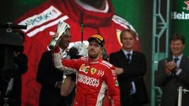 F1, Vettel: «Non siamo stati abbastanza veloci»