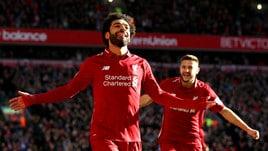Premier: Liverpool avanti contro l'Arsenal