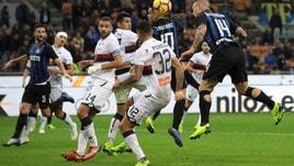 Serie A Inter-Genoa 5-0, il tabellino