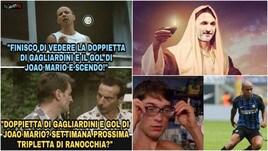 Inter: Gagliardini fa doppietta, gol e assist diJoao Mario. Il web in visibilio