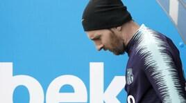Barcellona, Messi convocato per la sfida di martedì con l'Inter