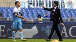 Inzaghi:«Ho rivisto la mia Lazio». E Immobile:«Segno di maturità»