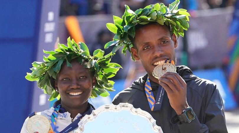 Maratona New York, trionfano Desisa e Keitany