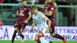 Serie B, Livorno-Perugia 2-3: Vido lancia Nesta