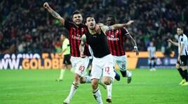 Udinese-Milan 0-1: decide Romagnoli al 97'