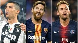 Champions, il G3 in Italia: tutti i più grandi nei nostri stadi!