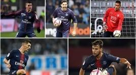 "Cinque ""Parisiens"" a un passo dal Napoli"