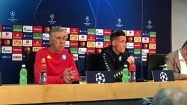 Ancelotti: «Psg super squadra ma l'ambiente è carico»