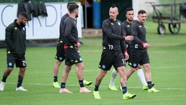 Coppa Italia, Napoli-Sassuolo: out Hamsik e Mertens. Convocato il giovane Gaetano