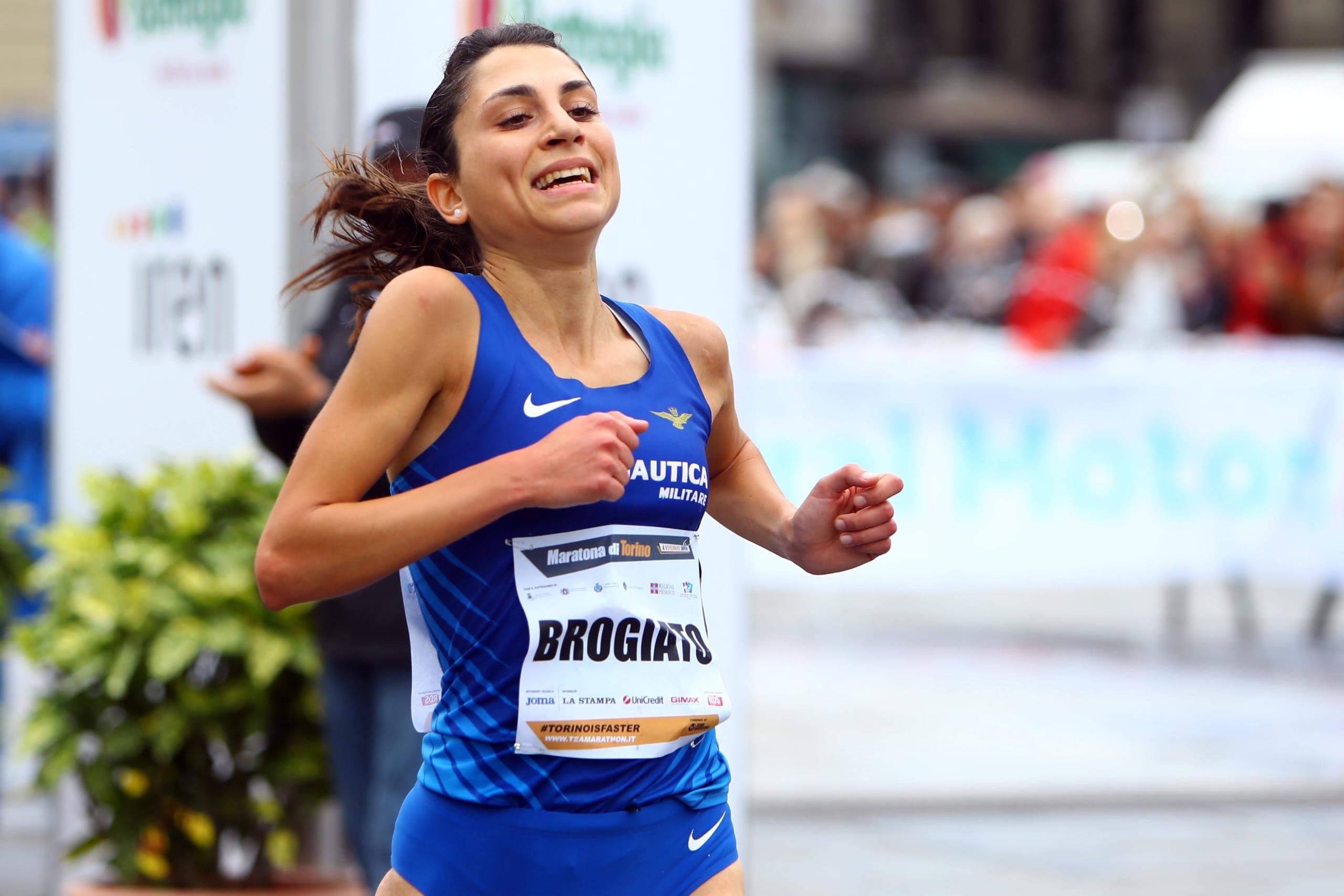 Sara Brogiato, buon esordio a Maratona di Torino