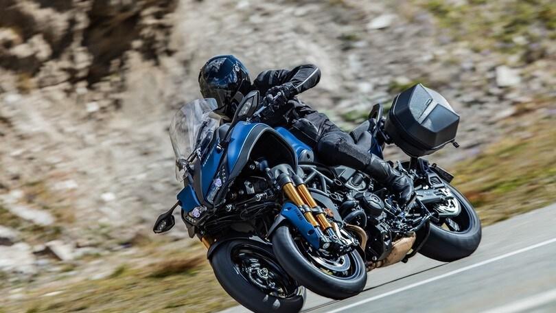 Yamaha Niken GT: per fare chilometri