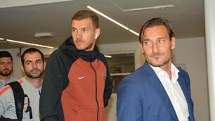 Totti guida la Roma a Mosca