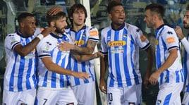 Pescara-Lecce 4-2: Del Sole, magie alla Robben