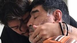 Il sogno di Maradona jr: «Papà allenatore del Napoli»