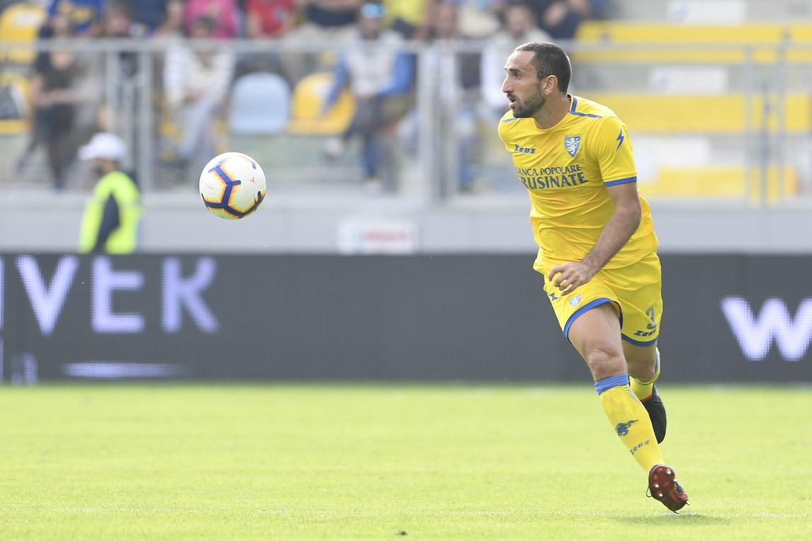 Serie A Frosinone, Molinaro lavora con lo staff medico