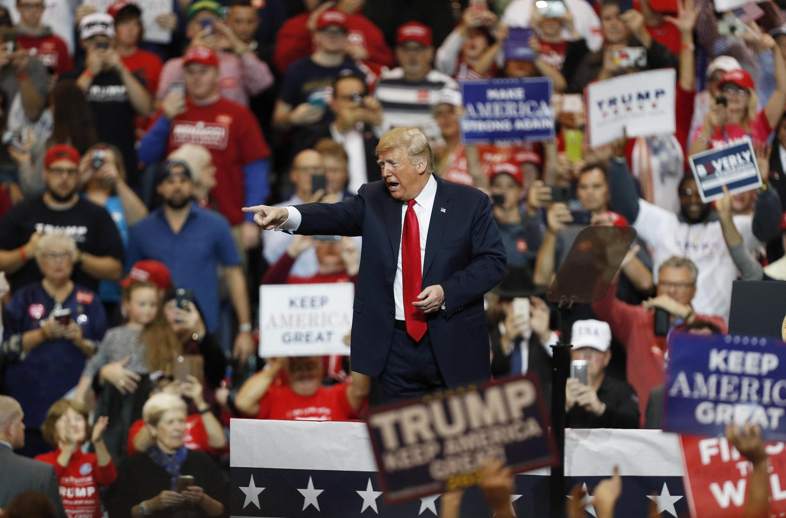 Midterm: Trump, non sarà bagno di sangue