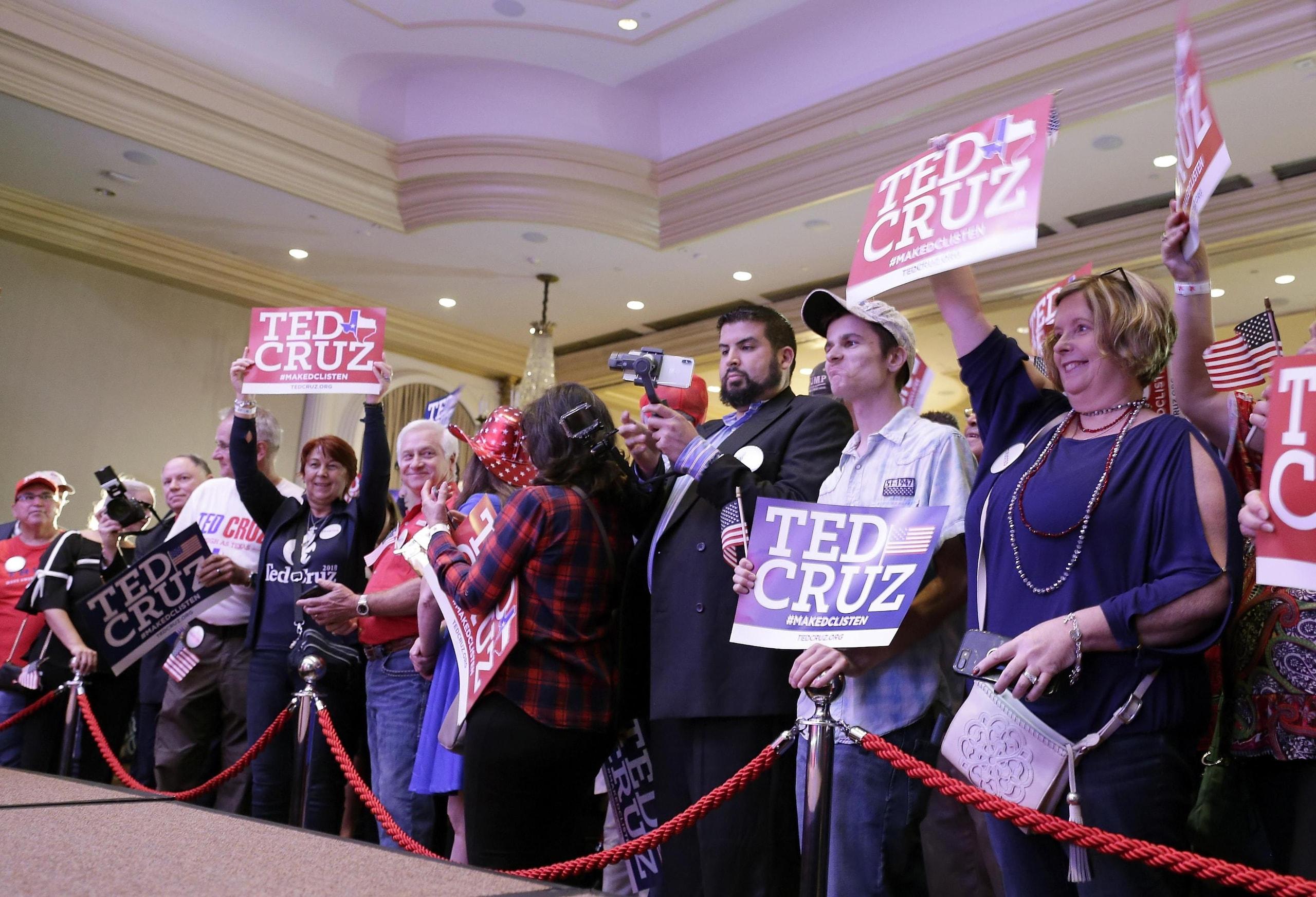 Midterm: Nbc, Cruz batte Beto O'Rourke