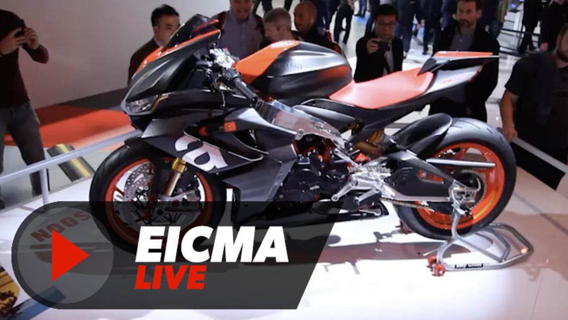 video aprilia rs660 live eicma 2018 corriere dello sport. Black Bedroom Furniture Sets. Home Design Ideas