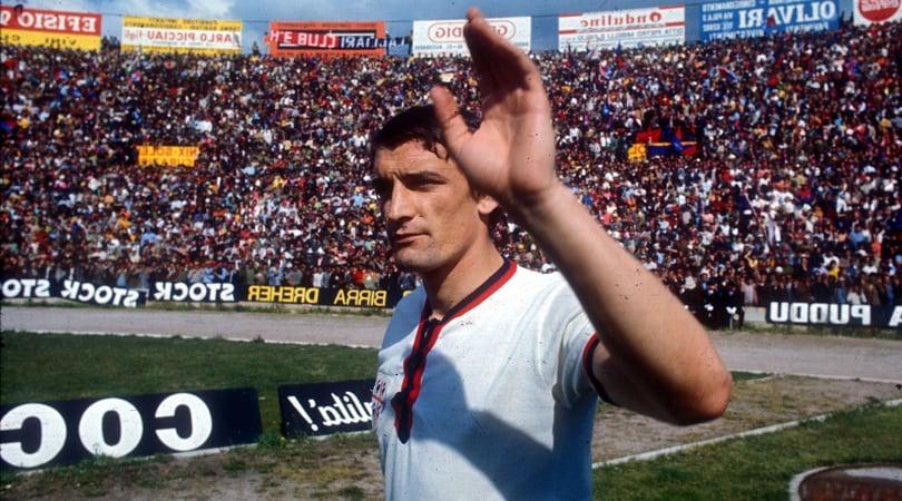 Il Cagliari fa gli auguri a Gigi Riva:
