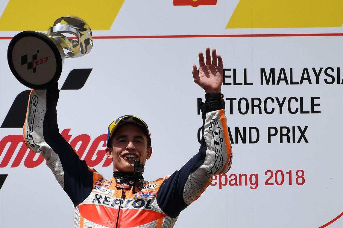 MotoGp, Marquez: «A Valencia voglio vincere ancora»