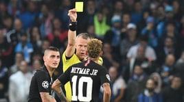Napoli-Psg, Neymar furioso:«Kuipers ci ha mancato di rispetto»
