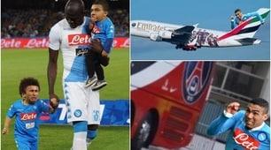 Napoli, Allan e Koulibaly eroi sui social