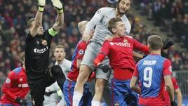 Champions League Cska-Roma 1-2, il tabellino