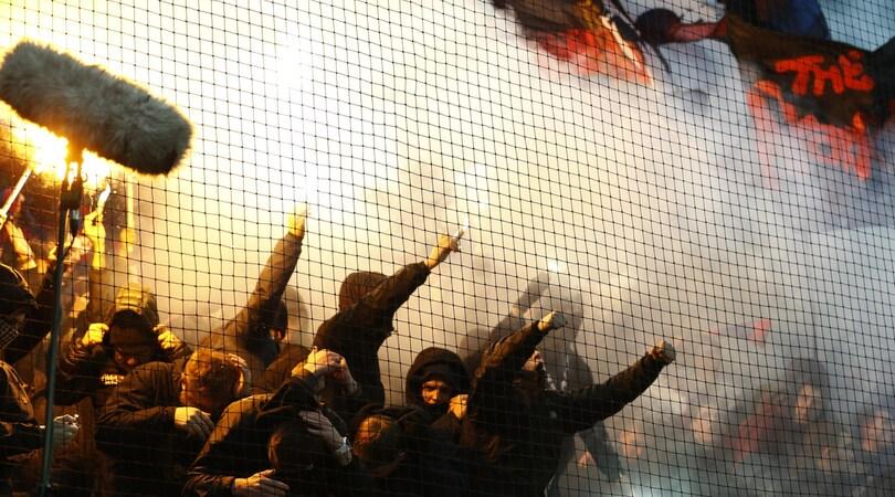 Mosca, scontri prima della sfida con il Cska: contusi tre tifosi della Roma