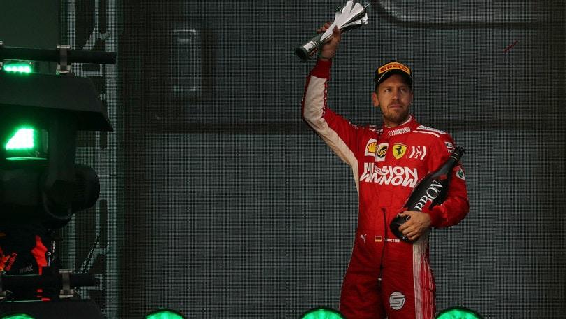 F1: Vettel, bis in Brasile a 2,50
