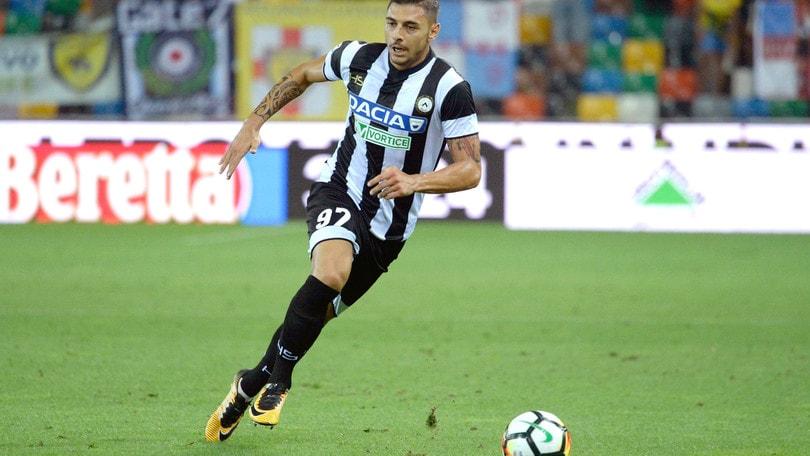 Serie A Udinese, Pezzella torna ad allenarsi in gruppo