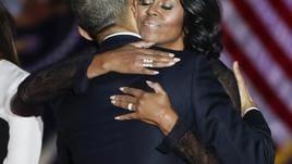 Tutti pazzi per Michelle Obama in Gb