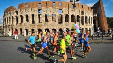 XXV Maratona Internazionale di Roma: Colosseo protagonista