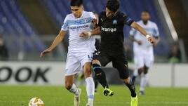 Europa League Lazio-Marsiglia 2-1, il tabellino