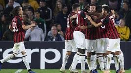 Europa League, Betis-Milan 1-1: Suso tiene vive le speranze