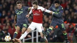 Europa League: frena l'Arsenal, pareggia lo Zenit di Marchisio. Sarri da record