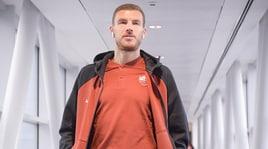 Roma, Dzeko: «Il City è sempre il mio club anche se non ci gioco più»