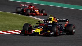 F1: Brasile, libere1, brilla Verstappen