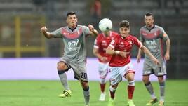 Serie B Perugia-Crotone 2-1. Gol e autogol per Simy