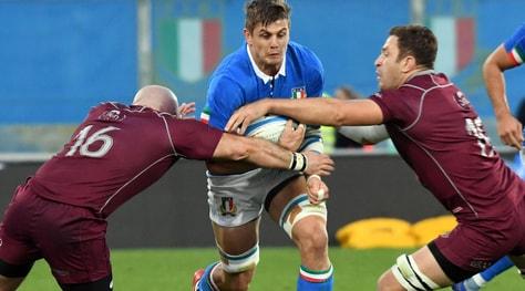 Rugby, a Firenze l'Italia batte la Georgia 28-17