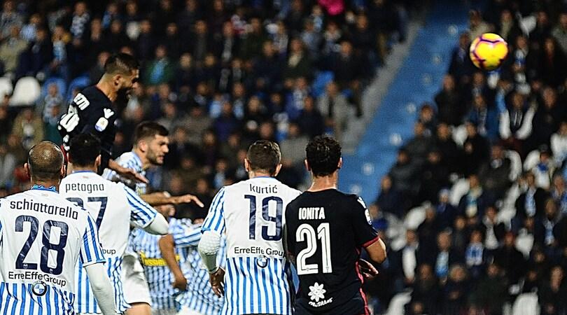 Serie A, Spal-Cagliari 2-2: Pavoletti e Ionita rispondono a Petagna e Antenucci