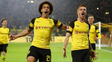 Bundesliga, il Borussia Dortmund ribalta il Bayern. M'Gladbach secondo