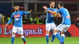 Genoa-Napoli 1-2: vittoria in rimonta con Fabian Ruiz e l'autogol di Biraschi