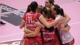 Volley: A2 Femminile, Perugia vince il big match con Sassuolo